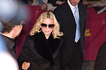 Madonna leaves the Hyatt Hotel after the &quot;Filth and Wisdom&quot; Press Conference during the 58th Berlinale Film Festival on 13 February, 2008 in Berlin, Germany.  (Philip Schulte/PressPhotoIntl.com)
