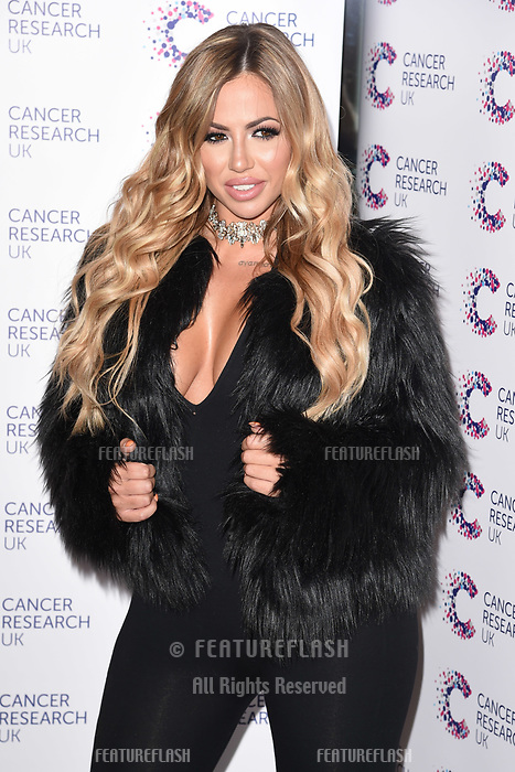 Holly Hagen arriving at James Ingham&rsquo;s Jog On to Cancer, in aid of Cancer Research UK at The Roof Gardens in Kensington, London.  <br /> 12 April  2017<br /> Picture: Steve Vas/Featureflash/SilverHub 0208 004 5359 sales@silverhubmedia.com