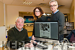 "Kerry's Eye Newspaper won a McNamee Provincial Media Award  for the 1916 supplement ""Sport & Revolution"" pictured from left: Jim O'Gorman, Sports Editor, Yvonne Daly, Graphic Designer and Colin Lacey, Editor Kerry's Eye."