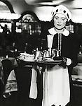 Lyons Nippy serving tea 1940s
