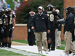 07 October 2006: Wake Forest defensive coordinator Dean Hood. The Clemson University Tigers defeated the Wake Forest University Demon Deacons 27-17 at Groves Stadium in Winston-Salem, North Carolina in an Atlantic Coast Conference NCAA Division I College Football game.