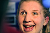 PICTURE BY VAUGHN RIDLEY/SWPIX.COM - Swimming - British Swimming Championships 2010, Day Five Finals - Ponds Forge, Sheffield, England  - 01/04/10...Copyright - Simon Wilkinson - 07811267706...Nova Centurion's Rebecca Adlington wins Gold in the Women's 400m Freestyle Final.
