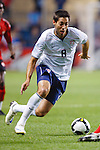 US midfielder Clint Dempsey (8). The U.S. Men's National Team defeated Trinidad & Tobago 3-0 at Toyota Park in Bridgeview, IL on September 10, 2008.