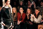 New york, United States. 7th February 2013 -- People attend the show of  fashion designer Rachel Zoe during New York Fashion Week, MBFW 2013 in New York. Photo by Kena Betancur / VIEWpress.