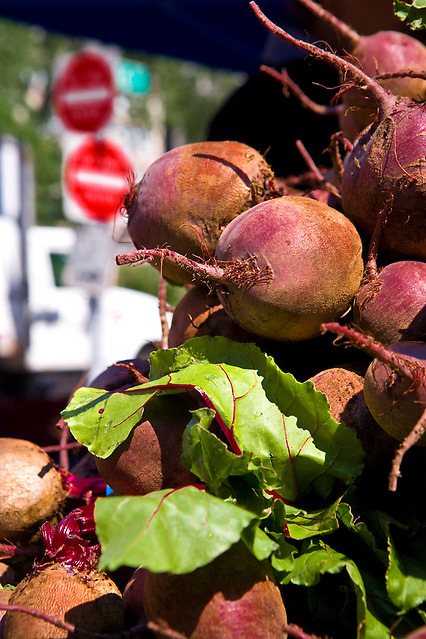 New York City: Beets in Union Square