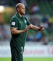 FUSSBALL   1. BUNDESLIGA   SAISON 2011/2012   TESTSPIEL SV Werder Bremen - FC Everton                 02.08.2011 Trainer Thomas SCHAAF (Werder Bremen) an der Seitenlinie