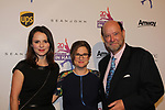 Founder Sharon Cohen poses with Sasha Cohen & Curtis McGraw Webster both honored tonight - Figure Skating in Harlem celebrates 20 years - Champions in Life benefit Gala on May 2, 2017 honoring Sasha Cohen and award is presented to her by Evan Lysacek and Curtis is presented award by Dick Button. (Photo by Sue Coflin/Max Photos)