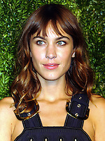 NEW YORK CITY, NY, USA - NOVEMBER 03: Alexa Chung arrives at the 11th Annual CFDA/Vogue Fashion Fund Awards held at Spring Studios on November 3, 2014 in New York City, New York, United States. (Photo by Celebrity Monitor)