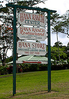 The Hana Ranch center, located in the heart of Hana, invites guests to relax with a cocktail and dining at the restaurant or to pick up some food at the local grocery for those travelers on the go.