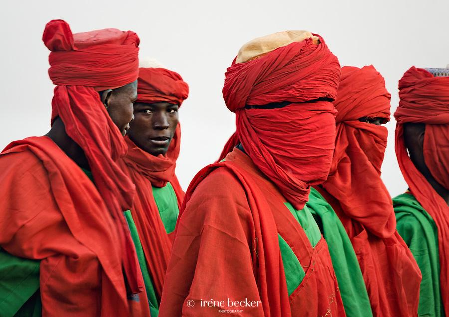 Sarkin Dogarai. Emir's Body guards. Argungu, Nigeria.