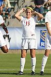 08 November 2009: Florida State's Amanda DaCosta. The University of North Carolina Tar Heels defeated the Florida State University Seminoles 3-0 at WakeMed Stadium in Cary, North Carolina in the Atlantic Coast Conference Women's Soccer Tournament Championship game.