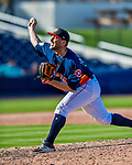 1 March 2017: Houston Astros pitcher Jordan Jankowski on the mound during Spring Training action against the Miami Marlins at the Ballpark of the Palm Beaches in West Palm Beach, Florida. The Marlins defeated the Astros 9-5 in Grapefruit League play. Mandatory Credit: Ed Wolfstein Photo *** RAW (NEF) Image File Available ***