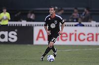 D.C. United defender Daniel Woolard (21). D.C. United defeated The Vancouver Whitecaps FC 4-0 at RFK Stadium, Saturday August 13 , 2011.