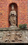 Street Madonna, Noordzandstraat, Bruges, Brugge, Belgium