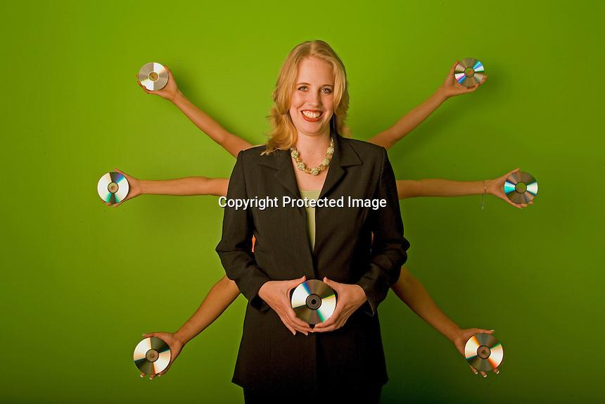 Stephanie Robertson, co-owner &amp; VP, Disc Inc. Houston, TX<br /> Photo by Chris Covatta