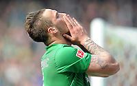 FUSSBALL   1. BUNDESLIGA   SAISON 2011/2012   34. SPIELTAG SV Werder Bremen - FC Schalke 04                       05.05.2012 Marko Arnautovic (SV Werder Bremen)  enttaeuscht