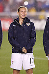 27 April 2008: Lori Chalupny (USA). The United States Women's National Team defeated the Australia Women's National Team 3-2 at WakeMed Stadium in Cary, NC in a rain delayed women's international friendly soccer match.