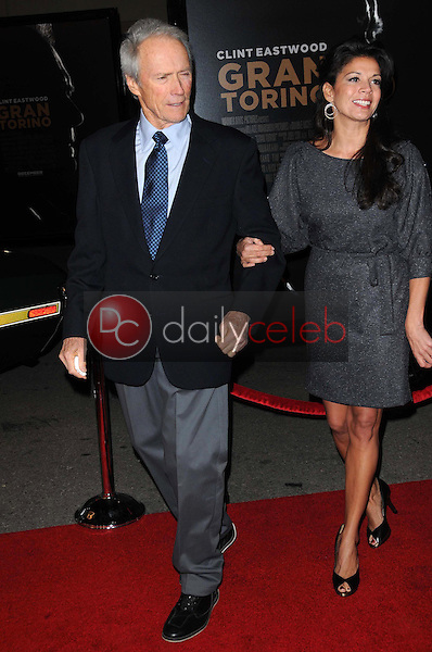 Clint Eastwood and Dina Eastwood <br /> at the World Premiere of 'Gran Torino'. Warner Bros Studios, Burbank, CA. 12-09-08<br /> Dave Edwards/DailyCeleb.com 818-249-4998