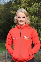 SCHAATSEN: HEERENVEEN: IJsstadion Thialf, 30-10-2012, Perspresentatie Team LiGA, Thijsje Oenema, ©foto Martin de Jong