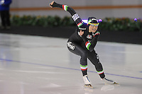 SCHAATSEN: CALGARY: Olympic Oval, 09-11-2013, Essent ISU World Cup, 500m, Yvonne Daldossi (ITA), ©foto Martin de Jong