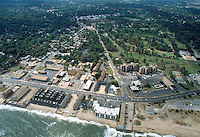 1992 September 30..Conservation.Cottage Line..OCEAN VIEW.LOOKING SOUTH.DOWN CHESAPEAKE BLVD FROM BAY....NEG#.NRHA#..