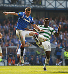 Lee McCulloch and Victor Wanyama