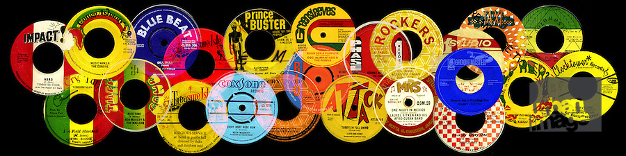 Reggae Record 45 Labels