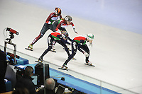 SHORT TRACK: TORINO: 15-01-2017, Palavela, ISU European Short Track Speed Skating Championships, Final Relay Ladies, Team Hungary, Team Italy, ©photo Martin de Jong