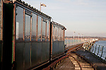 Hythe Ferry and Pier Railway; Southampton; England; UK