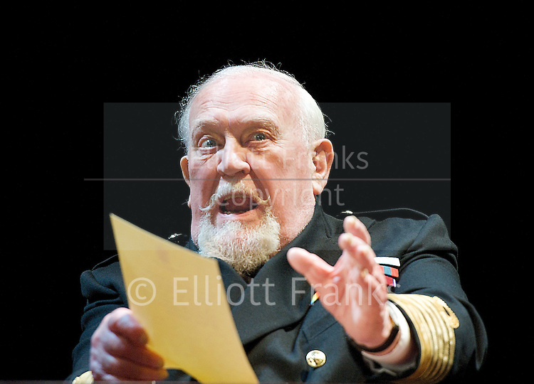 The King's Speech <br /> directed by Adrian Noble <br /> at the Wyndham's Theatre, London, Great Britain<br /> press photocall<br /> 26th March 2012 <br /> <br /> Charles Edwards (as King George VI)<br /> <br /> Jonathan Hyde (as Lionel Logue)<br /> <br /> Emma Fielding (as Queen Elizabeth)<br /> <br /> David Killick (as Stanley Baldwin)<br /> <br /> Adam Lilley <br /> <br /> Jeremy Bennett <br /> <br /> Ian McNeice (as Winston Churchill)<br /> <br /> Michael Feast (as Cosmo Lang)<br /> <br /> Joss Ackland (as King George V)<br /> <br />  <br /> Photograph by Elliott Franks<br /> Contact:<br /> 15a Campbell Road<br /> London E3 4DS<br /> United Kingdom<br /> Tel 07802 537 220 <br /> elliott@elliottfranks.com<br /> <br /> 2012&copy;Elliott Franks<br /> Agency space rates apply