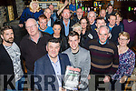 Launch<br /> ----------<br /> Justin Horgan used his own bar, The Abbey Tavern in Ardfert for the Kerry Launch of his new book ' Luftwaffe Eagles over Ireland ' last Friday night surrounded by a large crowd.