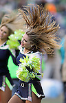 Seattle Seahawks Seagals perform before their game against the San Francisco 49ers at CenturyLink Field in Seattle, Washington on November 22, 2015.  The Seahawks beat the 49ers 29-13.   ©2015. Jim Bryant Photo. All RIghts Reserved.