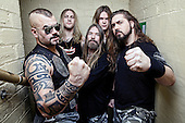 SABATON - L-R: Joakim Broden, Hannes van Dahl, Par Sundstrom, Tommy Johansson, Chris Rorland - performing live at the O2 Academy in Glasgow Scotland UK - 11 Jan 2017.  Photo credit: Paul Harries/IconicPix **NOT AVAILABLE FOR UK MUSIC MAGAZINES**