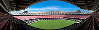 Barcelona Spain Camp Nou Football Stadium, Panorama CGI Backgrounds, ,Beautiful Background