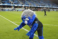 San Jose, CA - Saturday May 06, 2017: Mascot after a Major League Soccer (MLS) match between the San Jose Earthquakes and the Portland Timbers at Avaya Stadium.