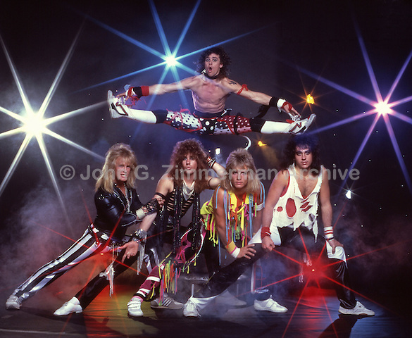 """Rocknee,"" Heavy Metal Band, 1988, Los Angeles."