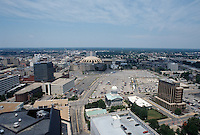 1996 June 28..Redevelopment..Macarthur Center.Downtown North (R-8)..FROM NATIONSBANK BUILDING.LOOKING NORTH...NEG#.NRHA#..