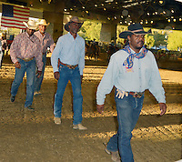 CITY OF INDUSTRY, CA - JULY 16: Reginald T. Dorsey, Glynn Turman, James Pickens Jr. attend the 32nd Annual Bill Pickett Invitational Rodeo Rides, Southern California at The Industry Hills Expo Center in the City of Industry on July 16, 2016 in the City of Industry, California. Credit: Koi Sojer/Snap'N U Photos/MediaPunch