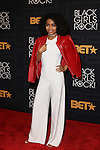 BLACKISH ACTRESS YARA SHAHIDI ATTENDS THE 2016 BLACK GIRLS ROCK! Hosted by TRACEE ELLIS ROSS  Honors RIHANNA (ROCK STAR AWARD), SHONDA RHIMES (SHOT CALLER), GLADYS KNIGHT LIVING LEGEND AWARD), DANAI GURIRA (STAR POWER), AMANDLA STENBERG YOUNG, GIFTED & BLACK AWARD), AND BLACK LIVES MATTER FOUNDERS PATRISSE CULLORS, OPALL TOMETI AND ALICIA GARZA (CHANGE AGENT AWARD) HELD AT NJPAC