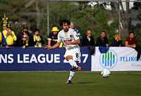 Albert Riera (Auckland) during the Oceania Football Championship final (second leg) football match between Team Wellington and Auckland City FC at David Farrington Park in Wellington, New Zealand on Sunday, 7 May 2017. Photo: Dave Lintott / lintottphoto.co.nz