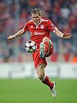 Fussball, Uefa Champions League 2009/2010, Halbfinale Hinspiel: FC Bayern Muenchen - Olympique Lyon