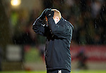 St Johnstone v Celtic..27.10.10  .Neil Lennon holds his head.Picture by Graeme Hart..Copyright Perthshire Picture Agency.Tel: 01738 623350  Mobile: 07990 594431