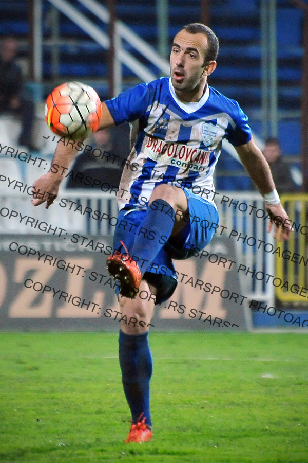 Fudbal Jelen Super League season 2016-2017<br /> Novi Pazar v Napredak (Krusevac)<br /> Slavko Maric<br /> Novi Pazar, 22. 10. 2016<br /> foto: Emir Sadovic/Starsportphoto &copy;