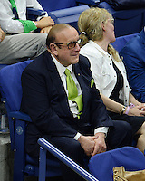 FLUSHING NY- SEPTEMBER 08: Clive Davis is seen watching Serena Williams Vs Karolina Pliskova on Arthur Ashe Stadium at the USTA Billie Jean King National Tennis Center on September 8, 2016 in Flushing Queens. Credit: mpi04/MediaPunch