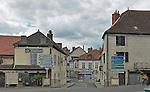 View of the wine village of Saint Pourcain