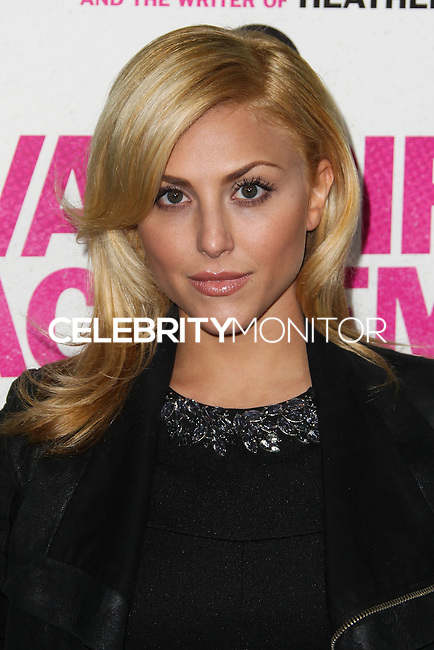 """LOS ANGELES, CA - FEBRUARY 04: Cassie Scerbo at the Los Angeles Premiere Of The Weinstein Company's """"Vampire Academy"""" held at Regal Cinemas L.A. Live on February 4, 2014 in Los Angeles, California. (Photo by Xavier Collin/Celebrity Monitor)"""