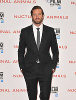 Armie Hammer at the &quot;Nocturnal Animals&quot; 60th BFI London Film Festival Headline gala screening, Odeon Leicester Square cinema, Leicester Square, London, England, UK, on Friday 14 October 2016.<br /> CAP/CAN<br /> &copy;CAN/Capital Pictures /MediaPunch ***NORTH AND SOUTH AMERICAS ONLY***