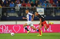 VOETBAL: HEERENVEEN: Abe Lenstra stadion 23-08-2014, SC Heerenveen - Excelsior uitslag 2 - 0, Luciano Slagveer, ©foto Martin de Jong
