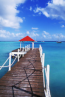 Dock in St Francois, Guadeloupe