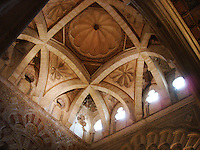 Inside Great Mosque - Cordoba, Spain